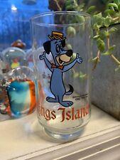1982 Kings Island Amusement Park Huckleberry Hound Glass