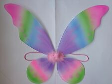 PASTEL TINKERBELL WINGS~*~DRESS UP COSTUME PIXIE WINGS