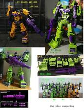 G1/G2  6 construction vehicles combiner Hercules-devastator no box