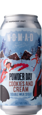 Nomad Powder Day Cookies And Cream 440mL Case of 24 Craft Beer