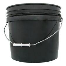Hydrofarm Bucket 3-Gallon Black New