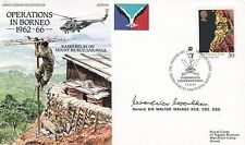 JS(CC)10c Operations in Borneo  Flown Hong Kong Signed General Sir Walter Walker