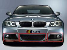 BMW E90 E91 M SPORT 08-11 FRONT BUMPER LOWER GRILL SET WITH FOGLIGHT SUPPORT