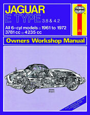 0140 Haynes Jaguar E Type (1961 - 1972) up to L Workshop Manual