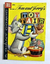 M.G.M.'S TOM AND JERRY'S TOY FAIR DELL GIANT COMIC #1 -1958 Dell Publishing