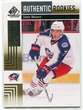 2011-12 SP Game Used Gold 143 John Moore Rookie 1/50