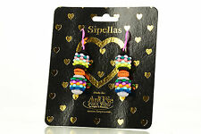 NEW AnUNe- For You Sipellas Earrings No 201, 1 Pair, Silicone Jewelry, women