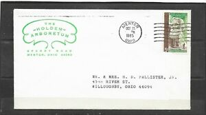 Vintage1965 The Holden Arboretum Advertising Cover From Mentor, Ohio