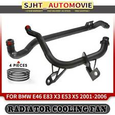 2x Water+Engine Heater Inlet Coolant Pipe fit BMW E46 X3 E83 X5 E53 11537502000