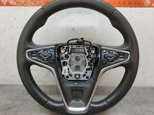 VAUXHALL INSIGNIA A MK1 FACELIFT MULTI FUNCTION LEATHER STEERING WHEEL