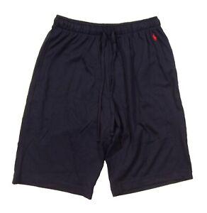 Polo Ralph Lauren Men's Navy Solid Cotton Supreme Comfort Sleep Shorts