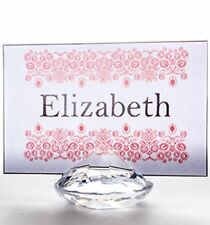 Diamond Place Card Holder Set of 20 Wedding & Party Table Decorations