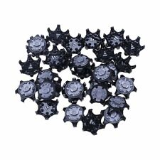 30Pcs Golf Shoe Spikes Golf Cleats Replace Champ Cleat Screw-in Tool Outdoor