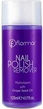 FLORMAR NAIL POLISH REMOVER WITH GRAPE SEED OIL 125 ml …