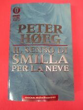 BOOK LIBRO IL SENSO DI SMILLA PER LA NEVE Peter Hoeg 2000 Mondadori (L55)