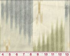 100% Linen Overstock Ikat Braemore Drapery Upholstery Fabric Manisa Neutral