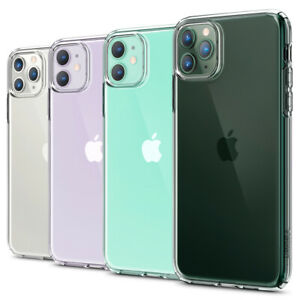 iPhone 11, 11 Pro, 11 Pro Max Case | Spigen® [Liquid Crystal] Clear Cover