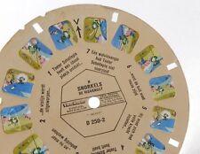 Disque Stéréo VIEW MASTER : SNORKELS de visvangst - Disque D 205-2 en flamand