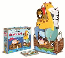 Assemble & Build Noah's Ark Giant 3D Puzzle & Book by Sassi Junior