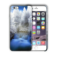 Nature Winter Ice Frost Iphone 4s 5 SE 6 6s 7 8 X XS Max XR 11 Pro Plus Case n8