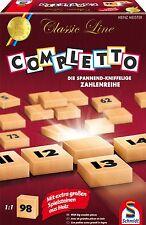 SCHMIDT SPIELE 49315 - CLASSIC LINE - COMPLETTO (SPIELSTEINE AUS HOLZ) # NEU OVP