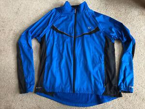 Pearl Izumi Elite Barrier Cycling Convertible Jacket Vest Men's XXL 2XL Blue