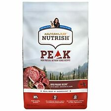Rachael Ray Nutrish Peak Natural Dry Dog Food Open Prairie Recipe with Beef V.