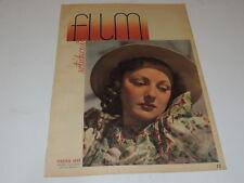 Sztuka i Film 33/1938 polish magazine Virginia Aray, Ginger Rogers, Clark Gable