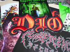 Dio Patch Shape Old Heavy Metal Rainbow