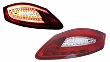 05~08 Porsche Boxster/Cayman 987 981 Style Red/Clear LED Bar Tail Lamps Lights
