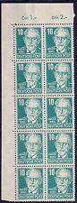 Echtheitsgarantie Deutsche Briefmarken der sowjetischen Besatzungszone aus Posten & Lots mit Postfrisch