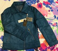 """Superlative Fashion"" Italian Designer Jacket For Women, Size (M) Color Blue"