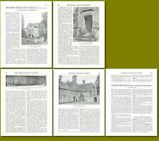 1931 Dean In Tillington Historic House Of Sussex Old Article
