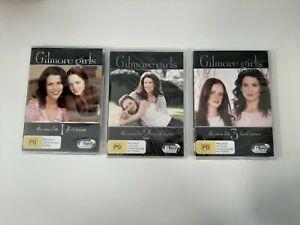 Gilmore Girls - Seasons 1-3 - 18 Disc Set - R4 - Brand New & Sealed