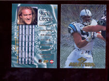 1997 CE Collectors Edge Masters KEVIN GREENE Carolina Panthers Card