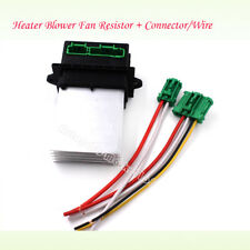 Heater Blower Fan Resistor + Connector/Wire For Citroen C2 C3 C5 Peugeot Renault