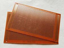 2pc 9x15cm Stripboard Veroboard Uncut PCB Platine Single Side Circuit Perf Board