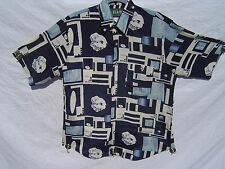 "Designer Short Sleeve Shirt M by FLASH - ""back"""