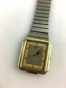 RARE SEIKO QUARZO OROLOGIO SVEGLIA 5C20-5000 orologio vintage funziona japan