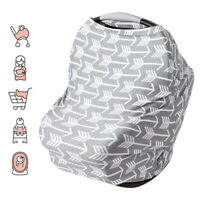 Nursing Scarf Cover Up for Breastfeeding Baby Car Seat Stroller Canopy Blankets