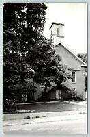 Nashville Indiana~Brown County Court House~Large Tree in Front~1950s RPPC