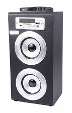 ALTAVOZ PORTATIL Bluetooth Torre Caja USB, SD, RadioFM, MP3 con Asa y Mando