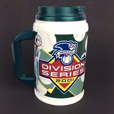 Oakland A's Athletics 2001 Western Division Series Whirley Travel Cup Mug Drink