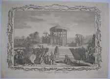 1771 incisione del popolo Giapponese Matrimonio Cerimonia Matrimonio Group GIAPPONE STORIA