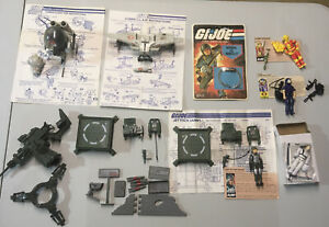 GI Joe 1983 JUMP Grand Slam CLAW flight pod Tele-Viper Missile Def bracelet Lot