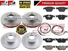 BMW E92 320d 320 DIESEL 2007-2012 FRONT AND REAR BRAKE DISCS & PADS SET NEW