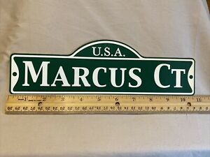 Green Street Room Sign Personalized  ~ USA  Marcus Ct~ Stocking Stuffer ~