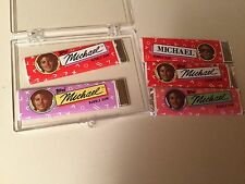 TOPPS MICHAEL JACKSON BUBBLE GUM LOT OF 5 PIECES FROM 1984