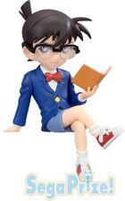 Detective Conan 4'' Sitting Conan Reading Sega Prize Figure Anime Manga NEW