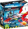 ⭐⭐⭐ NIB Playmobil Ghostbusters Zeddemore With Aqua Scooter Building Set 9387 ⭐⭐⭐